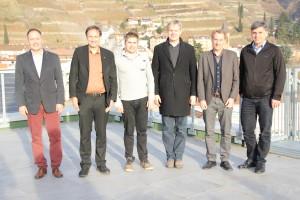 v.l.n.r.: Ulrich Höllrigl, Thomas Egger, Andreas Mair, Philipp Moser, Thomas Streifeneder, Georg Lun