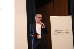 Plattform-Land-Präsident Schatzer