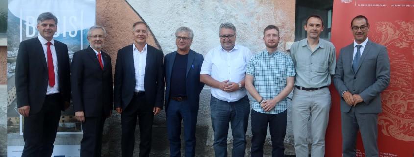 Lun, Ebner, Höllrigl, Schatzer, Pinggera, Götsch, Weber, Aberer (c) hk